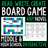 Read, Write, Create Board Game for ANY NOVEL! Common Core