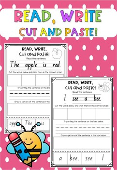 Read, Write, Cut and Paste