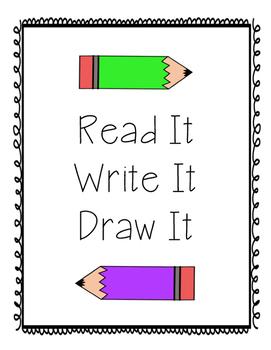 Read Write Draw