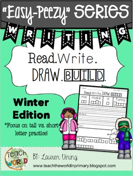 Read, Write, Draw, & Build