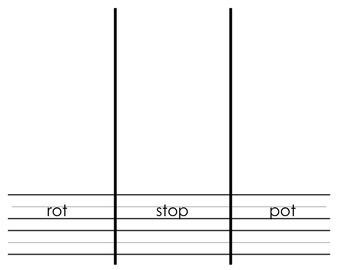 Read Write Draw - Short O
