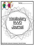 Read Write Draw Vocabulary Journal - Benchmark 2nd Grade