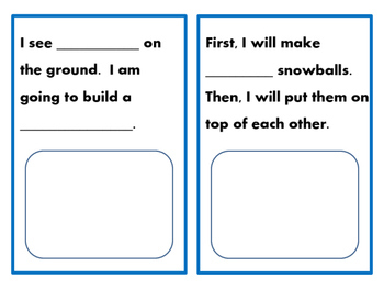 Read, Write, Draw In First Grade: Winter Story