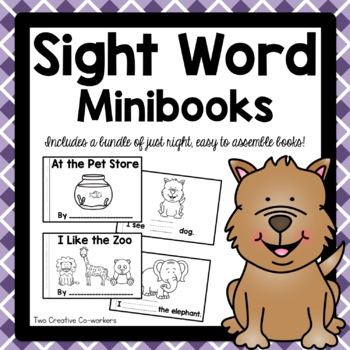 High Frequency / Sight Words- Read and Write Printable Minibooks Set 1