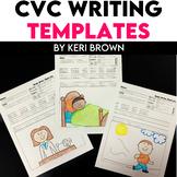 Kindergarten Writing: Short Vowel Writing Journal, Writing Paper, Writing Center