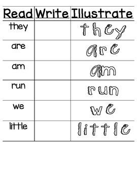Read Write Illustrate