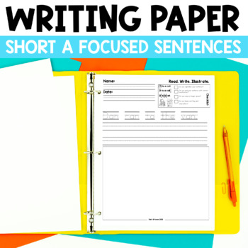 Read. Write. Illustrate. 2 - Short a set