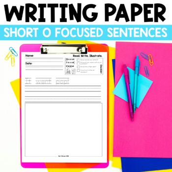 Read. Write. Illustrate. - Short o set