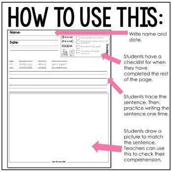 Read. Write. Illustrate. - Short u set