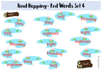 Read Write Inc - Red Words: Pond Hopping