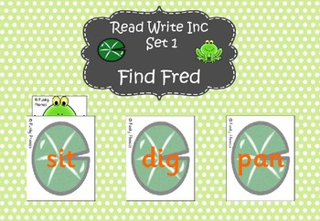 Read Write Inc - Set 1 Find Fred