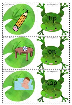 Read Write Inc - Set 1: Lily Pad Match