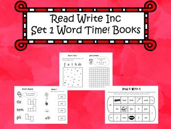 Read Write Inc Set 1 Word Time Books