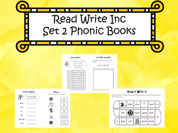 Read Write Inc Set 2 Phonic Books By Funky Phonics Tpt