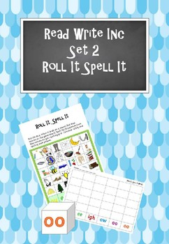 Read Write Inc - Set 2 Roll It Spell It