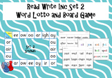 Read Write Inc - Set 2 Word Lotto and Board Games