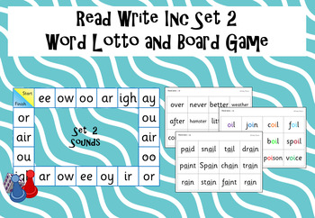 Read Write Inc - Set 2 Word Lotto