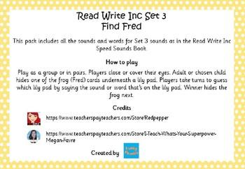 Read Write Inc - Set 3 Find Fred
