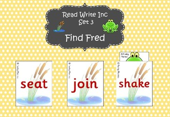 Read Write Inc - Set 3 Find Fred
