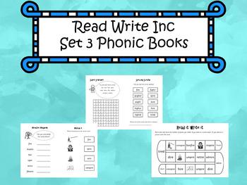 Read Write Inc - Set 3 Phonic Books
