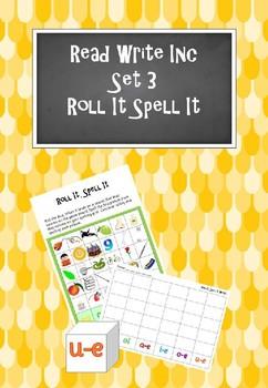 Read Write Inc - Set 3 Roll It Spell It