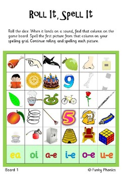 Read Write Inc Set 3 Roll It Spell It By Funky Phonics Tpt