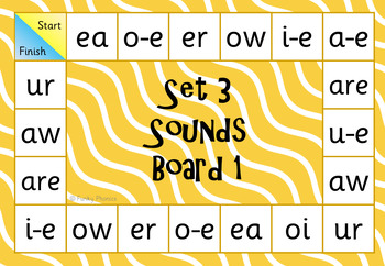 Read Write Inc Set 3 Word Lotto And Board Game By Funky Phonics