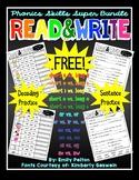 Read & Write K / 1st / 2nd Phonics Super Bundle (Decoding
