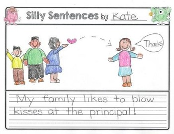 Read, Write, Laugh Silly Sentences