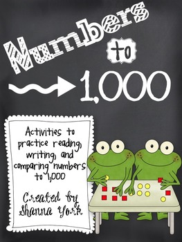 Read, Write, & More - Numbers to 1000