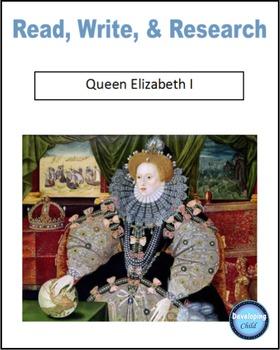 Read, Write, & Research Queen Elizabeth I