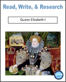 Read, Write, & Research Queen Elizabeth I