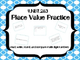 Read, Write, Round, and Compare Multi-Digit Numbers Task C