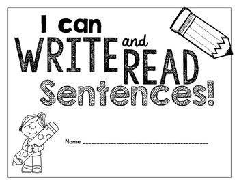 Read & Write Sentences: Handwriting Practice and Text-to-P
