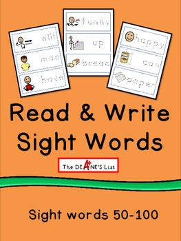 Read & Write Sight Words 2