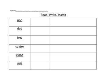 Read, Write, Stamp