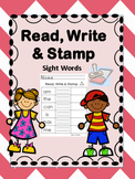 Sight Word Stamp