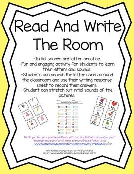 Read & Write The Room ABC