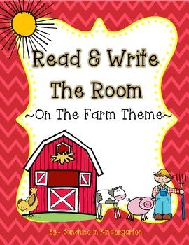Read & Write The Room {On The Farm Theme}