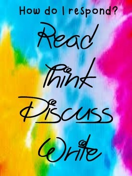 Read, Write Think, Discuss