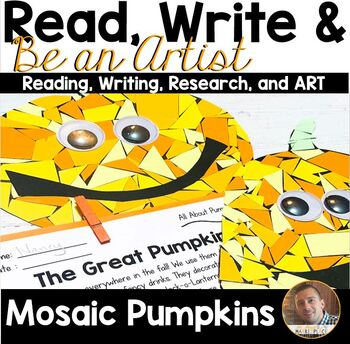 Read, Write, and BE AN ARTIST: All About Pumpkins