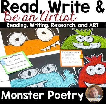 Read, Write, and BE AN ARTIST: Poetry and Monsters