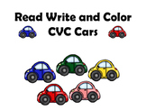 Read Write and Color CVC Words