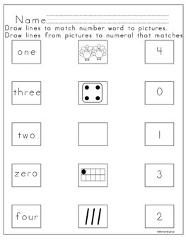 Read Write and Count: Number recognition 0-9