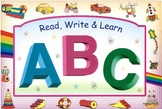 Read, Write and Learn Alphabets ABC - Complete Book