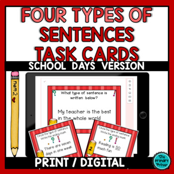 Read, Write, and PLAY {Four Types of Sentences}