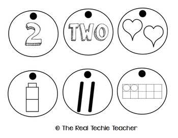 Read, Write, and Recognize - a number sense activity