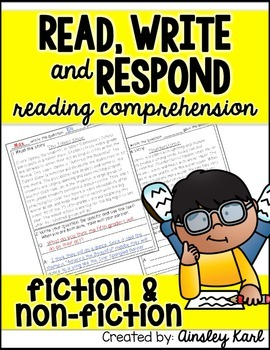 Short Stories to Practice Fluency and Comprehension - Fiction & Non-Fiction