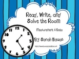 Read, Write, and Solve the Room (Measurement and Data)