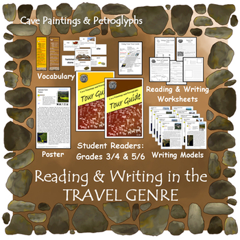 Read & Write in Travel Genre (INCLUDED in Cave Paintings & Petroglyphs)